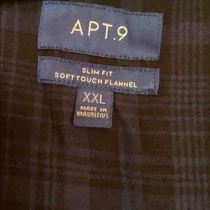 Apt. 9 Tops - 2x Flannel